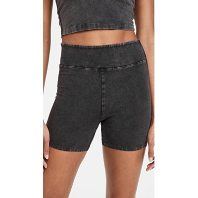 FP Movement by Free People Womens Hot Shot Shorts Black Sports Shorts Target Fitted NJRI221