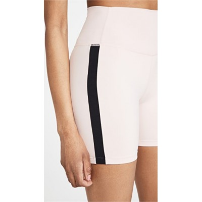 Splits59 lady Loulou High Waist Airweight Shorts Powder/Black Activewear & Loungewear Pro Business Casual RHZB823