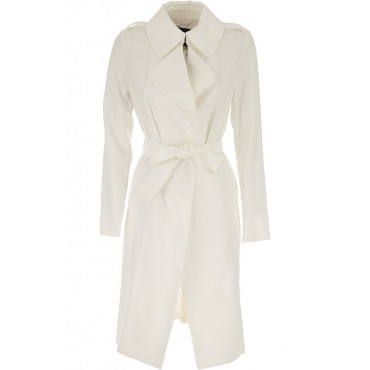 Guess Coats Style 90% Viscose, 10% Polyester White Clothing for girl wholesale URQN326