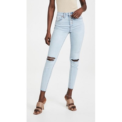 Blank Denim Women Break The Cycle Exposed Button Jeans Break The Cycle Pants XLPI741