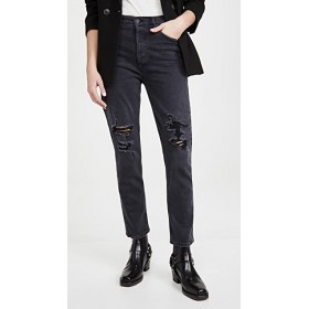 Citizens of Humanity Women's Charlotte High Rise Straight Jeans Happy Hour Straight Leg Jeans Plus Size REQG356