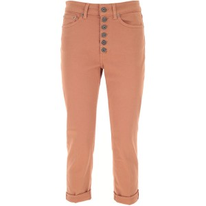 Dondup Jeans 92% Cotton, 6% elastomultiestere, 2% Elasthane Brown Clothing for Lady SNYW214