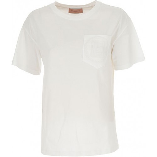 Ermanno Scervino T-Shirts 100% Cotton White Clothing for women On Line KWHR520